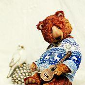 Куклы и игрушки ручной работы. Ярмарка Мастеров - ручная работа MISHA. авторский мишка-тедди просто Миша. коллекционный медведь. Handmade.
