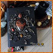 """Фен-шуй и эзотерика ручной работы. Ярмарка Мастеров - ручная работа Книга Теней """"Тайны Земли"""", книга мага, для заклинаний. Handmade."""