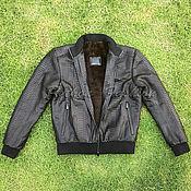 Мужская одежда handmade. Livemaster - original item Men`s winter jacket made of python NORD. Handmade.
