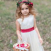Работы для детей, ручной работы. Ярмарка Мастеров - ручная работа Платье Маленькая Принцесса. Handmade.
