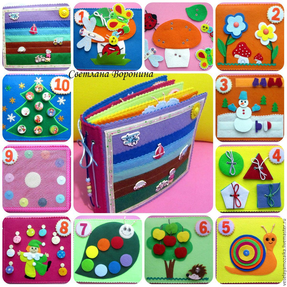 Развивающие игрушки своими руками для детей 4-5 лет фото 89