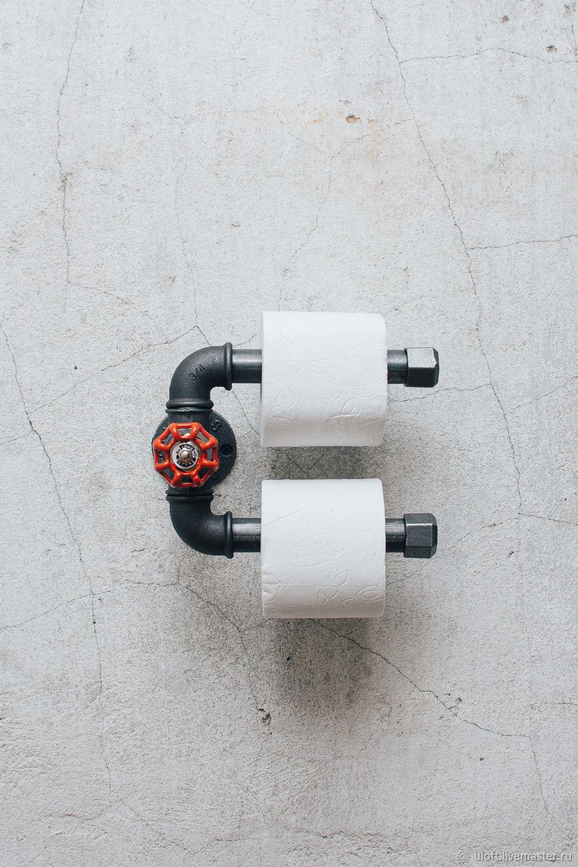 Держатель для туалетной бумаги в стиле лофт Stilli 3, Держатели, Иваново,  Фото №1