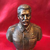 Для дома и интерьера handmade. Livemaster - original item Bust of Joseph Stalin. Handmade.