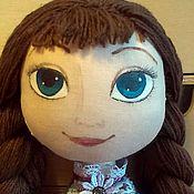 Куклы и игрушки ручной работы. Ярмарка Мастеров - ручная работа Принцесса Анна из Ледяного Сердца. Handmade.