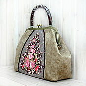 Сумки и аксессуары handmade. Livemaster - original item Bag VICTORIAN VINTAGE carrying case. Handmade.