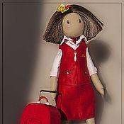 """Куклы и игрушки ручной работы. Ярмарка Мастеров - ручная работа Бортпроводница """"Nordwind Airlines"""". Handmade."""