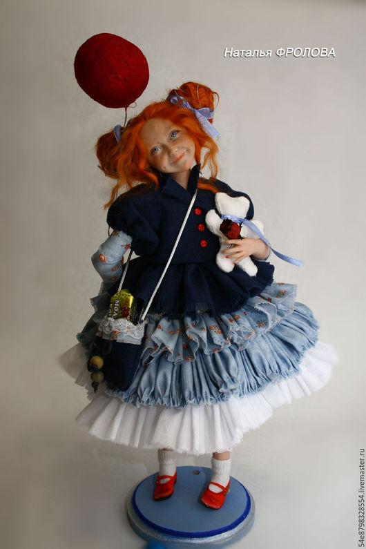 Коллекционные куклы ручной работы. Ярмарка Мастеров - ручная работа. Купить Стрекоза-Ягоза. Handmade. Комбинированный, ручная работа handmade