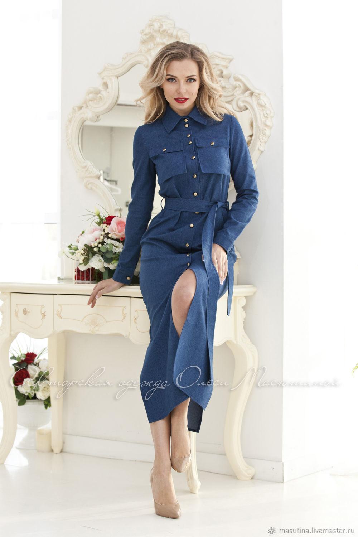 Dress 'Jeans forever', Dresses, St. Petersburg,  Фото №1