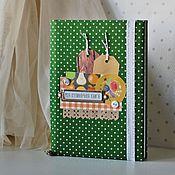 Канцелярские товары ручной работы. Ярмарка Мастеров - ручная работа Моя Кулинарная Книга. Handmade.