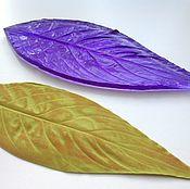 Материалы для творчества handmade. Livemaster - original item Арт.3018 Mold leaf spatifilliuma 14.5 by 5 cm- L-made on Thai equipm. Handmade.