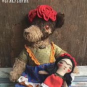Куклы и игрушки ручной работы. Ярмарка Мастеров - ручная работа Фрида. Handmade.