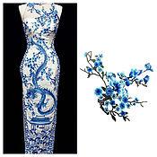 Материалы для творчества handmade. Livemaster - original item Flower applique, 35,5h28,  cm.. Handmade.
