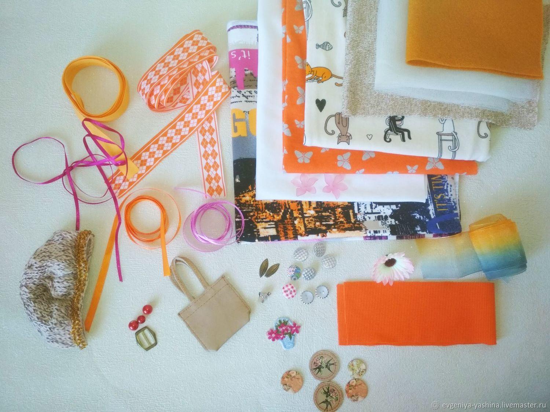 Куклы и игрушки ручной работы. Ярмарка Мастеров - ручная работа. Купить Набор для шитья одежды куклам. Handmade. Подарок девушке