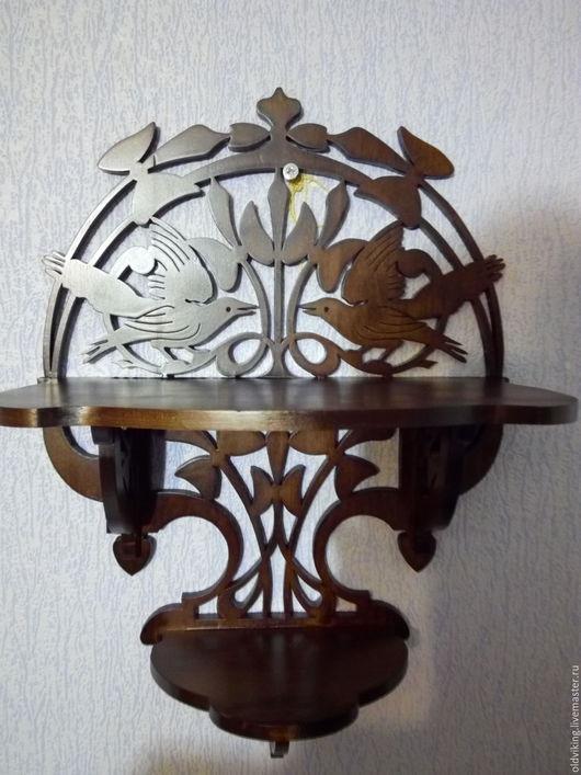 Мебель ручной работы. Ярмарка Мастеров - ручная работа. Купить Полка голуби 2-хярусная А 03. Handmade. Комбинированный