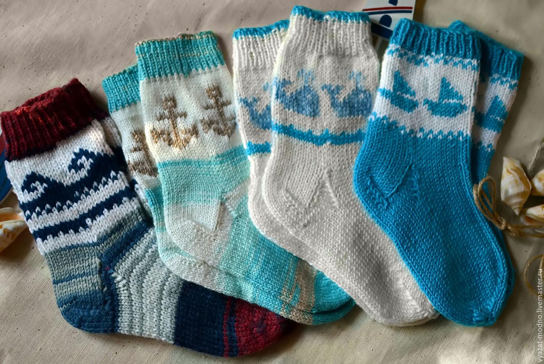 Носочки для малышей спицами с описанием и фото, для 95