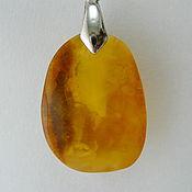 Украшения handmade. Livemaster - original item Pendant made of amber Nord K-422. Handmade.