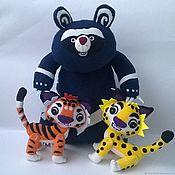 Куклы и игрушки handmade. Livemaster - original item Mapa Pandya m/f Leo and TIG. Handmade.
