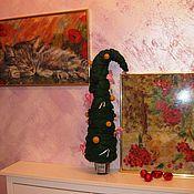 """Картины и панно ручной работы. Ярмарка Мастеров - ручная работа """"А у нас Новый год..."""". Handmade."""