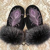 Аксессуары handmade. Livemaster - original item Gift mittens
