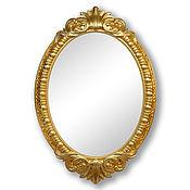 Зеркала ручной работы. Ярмарка Мастеров - ручная работа Зеркало в золотой раме. Handmade.