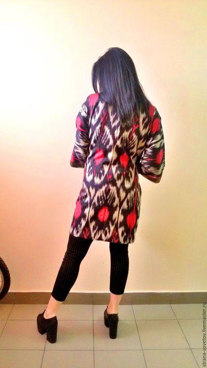 Верхняя одежда ручной работы. Ярмарка Мастеров - ручная работа. Купить Летнее ПАЛЬТО. Handmade. Комбинированный, плащ, летне пальто