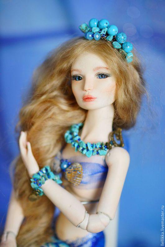 Коллекционные куклы ручной работы. Ярмарка Мастеров - ручная работа. Купить Русалка. Шарнирная кукла. Handmade. Комбинированный, кукла в подарок