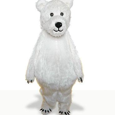 """Дизайн и реклама ручной работы. Ярмарка Мастеров - ручная работа Ростовая кукла """"Белый медведь"""". Handmade."""