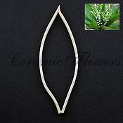Материалы для творчества handmade. Livemaster - original item Cutter leaf Lily of the valley, plastic. Handmade.