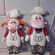 Куклы и игрушки ручной работы. Ярмарка Мастеров - ручная работа Поварята. Handmade.