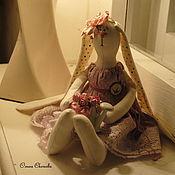 Куклы и игрушки ручной работы. Ярмарка Мастеров - ручная работа Тильда зайки.. Handmade.