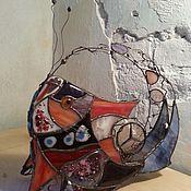 Для дома и интерьера ручной работы. Ярмарка Мастеров - ручная работа Чудо-рыба. Handmade.