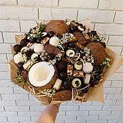 Букеты ручной работы. Ярмарка Мастеров - ручная работа Букет из конфет. Handmade.