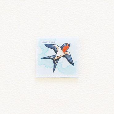 """Куклы и игрушки ручной работы. Ярмарка Мастеров - ручная работа """"Птицы"""" - парные карточки для развития памяти. Handmade."""