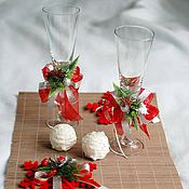 Подарки к праздникам ручной работы. Ярмарка Мастеров - ручная работа Подарочный набор для романтичных посиделок Red. Handmade.