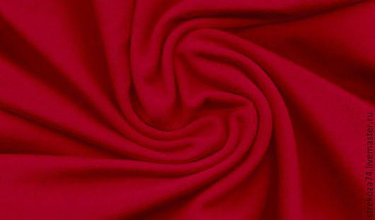 """Шитье ручной работы. Ярмарка Мастеров - ручная работа. Купить Футер с/л  """"Красный"""" 2-х нитка на изнанке петельки. Handmade."""