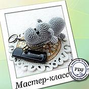 Сумки и аксессуары handmade. Livemaster - original item CASE: Hippo - plasnica. MK. Handmade.