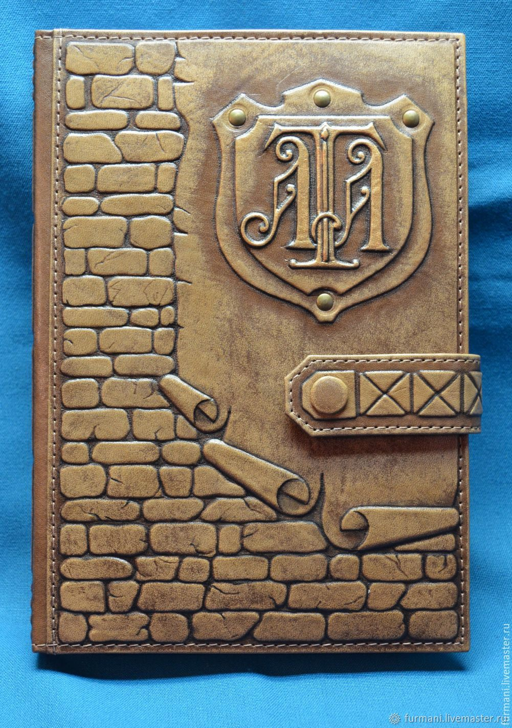 """Leather notebook """"WALL"""", Diaries, Krivoy Rog,  Фото №1"""