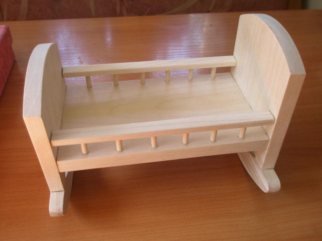 Как сделать кроватку качалку