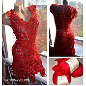 Одежда ручной работы. Ярмарка Мастеров - ручная работа Воздушный поцелуй - платье. Handmade.