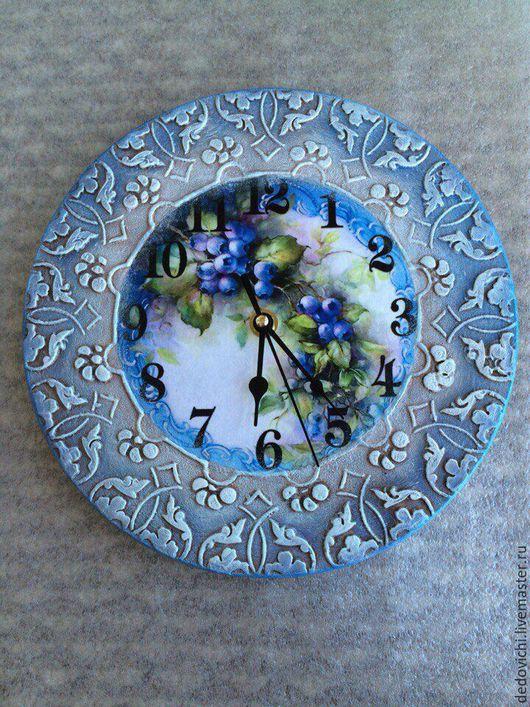 """Часы для дома ручной работы. Ярмарка Мастеров - ручная работа. Купить Часы настенные """"Кружевные"""". Handmade. Часы ручной работы"""
