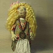 Куклы и игрушки ручной работы. Ярмарка Мастеров - ручная работа Хельга. Текстильная кукла. Handmade.