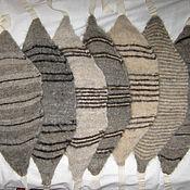 Одежда ручной работы. Ярмарка Мастеров - ручная работа Пояс носки и наколенники из собачьей шерсти. Handmade.