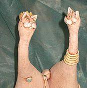 Куклы и игрушки ручной работы. Ярмарка Мастеров - ручная работа влюблённые киски. Handmade.