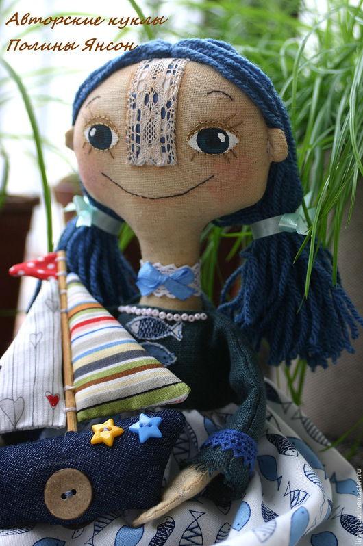 Коллекционные куклы ручной работы. Ярмарка Мастеров - ручная работа. Купить Чердачная авторская кукла интерьерная ручной работы. Handmade.