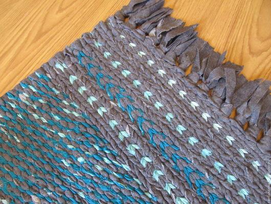 Текстиль, ковры ручной работы. Ярмарка Мастеров - ручная работа. Купить текстиль,половик,коврик,дорожка, шерстяной плетеный,авторская  работа. Handmade.