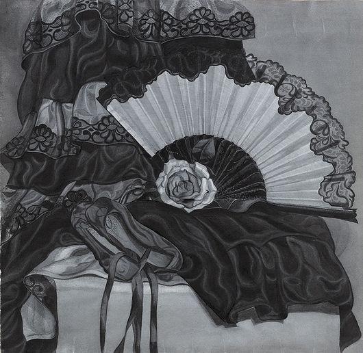 """Натюрморт ручной работы. Ярмарка Мастеров - ручная работа. Купить """"Об испанских танцах с любовью"""". Handmade."""