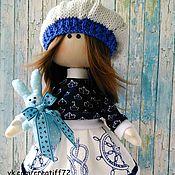 Куклы и игрушки ручной работы. Ярмарка Мастеров - ручная работа Кукла текстильная морячка Марина. Handmade.