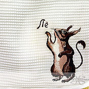 Материалы для творчества handmade. Livemaster - original item Embroidery on towel. Handmade.