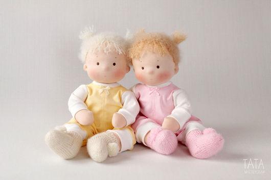 Вальдорфская игрушка ручной работы. Ярмарка Мастеров - ручная работа. Купить Лялечки Непоседы, игровые куколки. Handmade. Вальдорфская кукла
