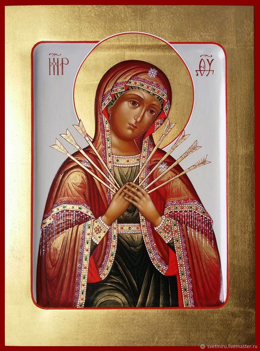softener of evil hearts . Icon Of The Theotokos, Icons, St. Petersburg,  Фото №1